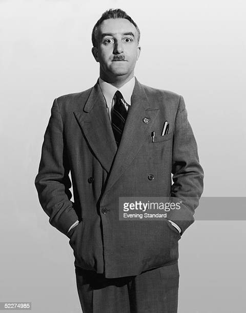 British comic actor Peter Sellers as shop steward Fred Kite in the Boulting Brothers' comedy 'I'm All Right Jack' 1960