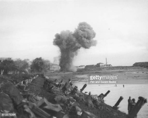 British Commando troops and infantry landed on the South and East coasts on the Island of Walcheren Holland in the early morning of November 1st 1944...