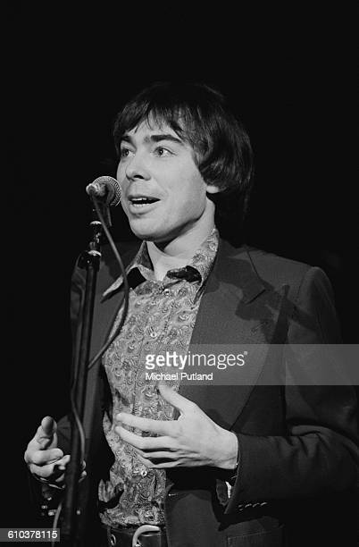 British composer Andrew Lloyd Webber at a live performance of his classicalrock fusion album 'Variations' USA April 1978 The piece is based on the...