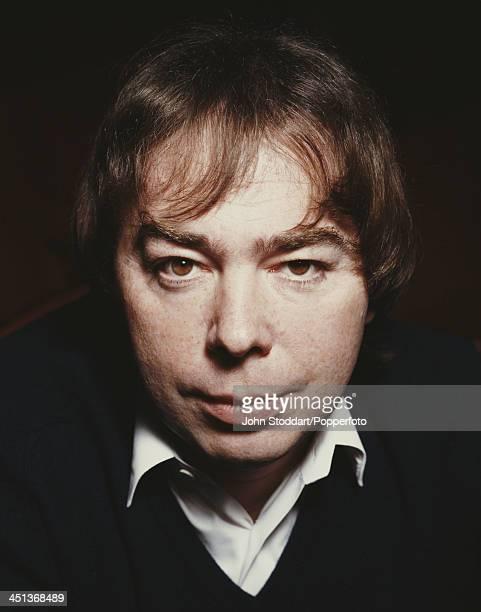 British composer Andrew Lloyd Webber London 1989