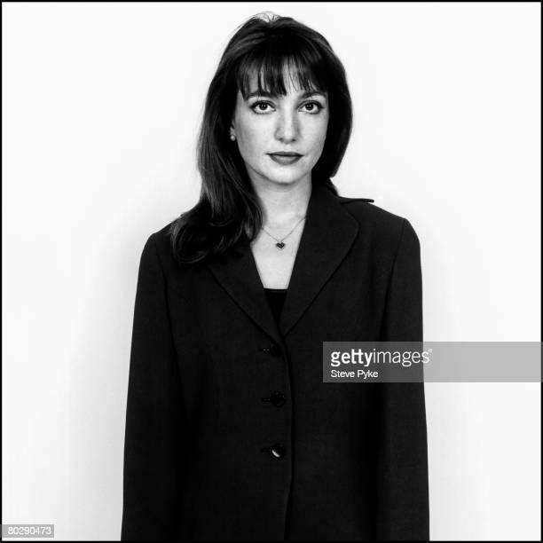 British composer Roxanna Panufnik, Hurstpierpoint, Sussex, February 1999.