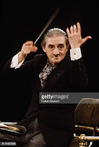 British Conductor Sir John Barbirolli .