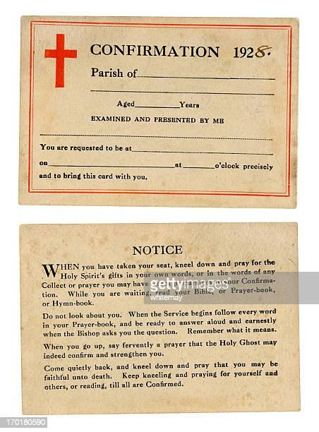 """""""Conferma carta, 1928"""""""