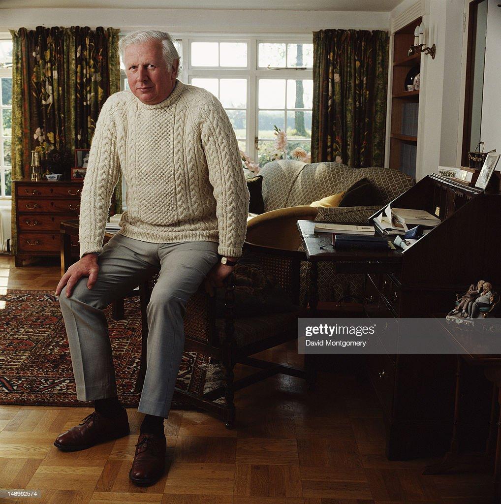 British Conservative Party MP James Prior, Baron Prior, 1980.