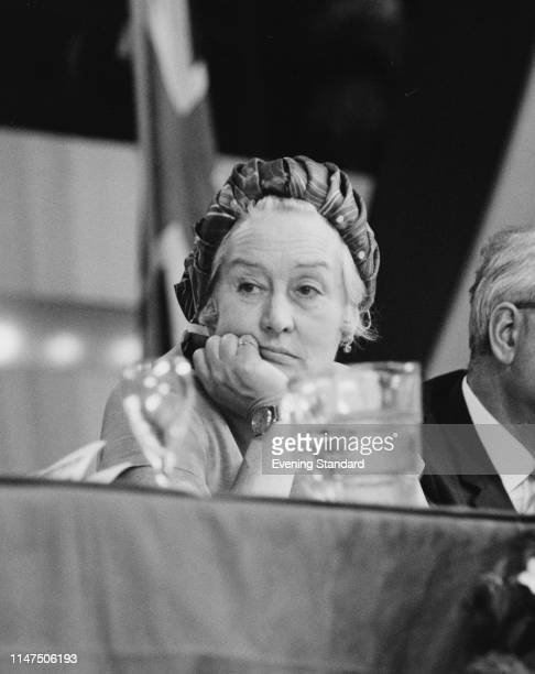 British Conservative political activist Unity Lister at the Conservative Party annual conference in Brighton, UK, 10th October 1969.