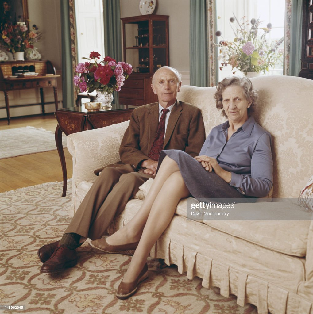 British Conservative politician Alec Douglas-Home (1903 - 1995) with his wife Elizabeth Douglas-Home, 1980. He was Prime Minister of the UK from 1963 to 1964.
