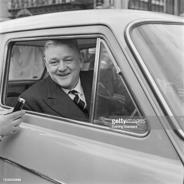 British Conservative politician Quintin Hogg, Baron Hailsham of St Marylebone , UK, 30th March 1965.