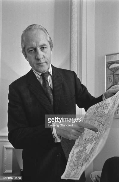 British Conservative politician William Shelton , the MP for Streatham in London, UK, 19th November 1974.