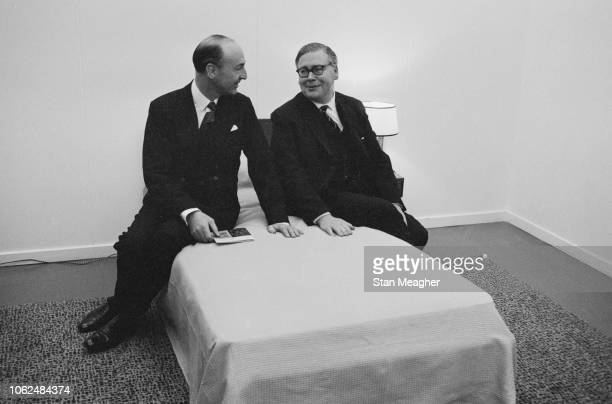 British Conservative politicians John Profumo and Geoffrey Rippon UK 29th January 1963
