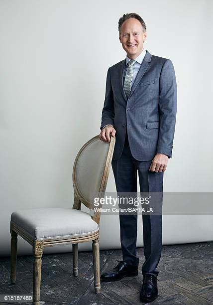 British Consul General Chris O'Connor poses for a portrait BBC America BAFTA Los Angeles TV Tea Party 2016 at the The London Hotel on September 17,...