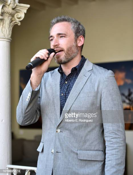 British Consul General in LA Michael Howells attends the BAFTALA Summer Garden Party at The British Residence on August 19 2018 in Los Angeles...