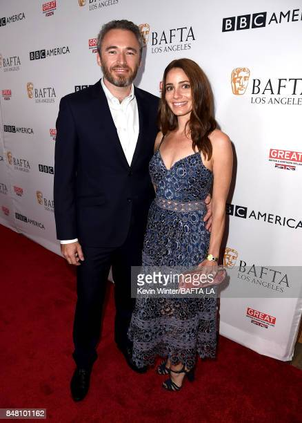 British Consul General Michael Howells and guest attend the BBC America BAFTA Los Angeles TV Tea Party 2017 at The Beverly Hilton Hotel on September...