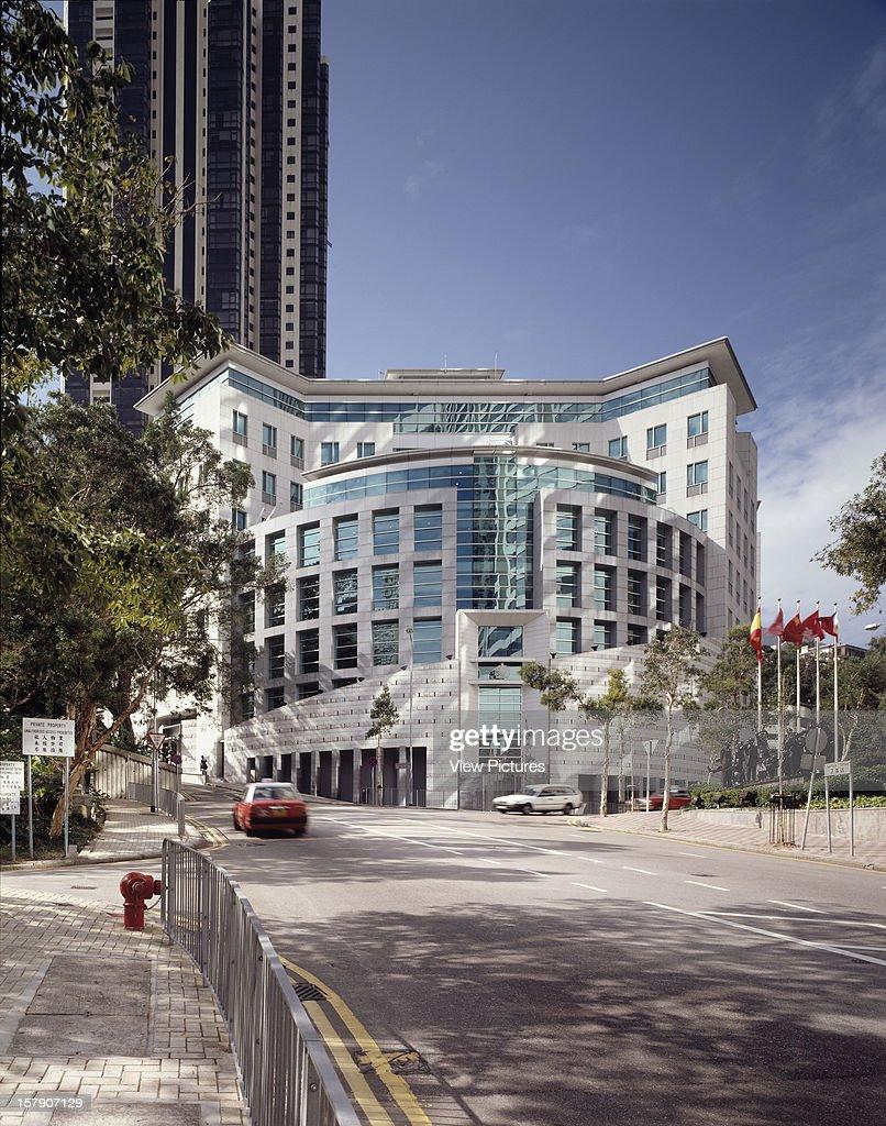British Consulate Hong Kong Hong Kong Architect Terry Farrell And