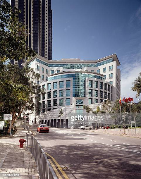 British Consulate, Hong Kong, Hong Kong, Architect Terry Farrell And Partners, British Consulate Terry Farrell And Partners. December 1999. Portrait...
