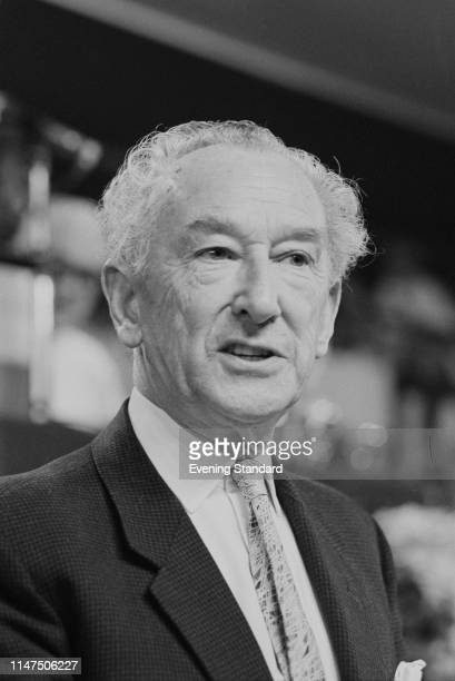 British consultant pathologist, author, and President of the Socialist Medical Association David Stark Murray , NHS Pioneer, at the Labour Party...