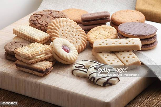 british cookies - daniele carotenuto stock pictures, royalty-free photos & images
