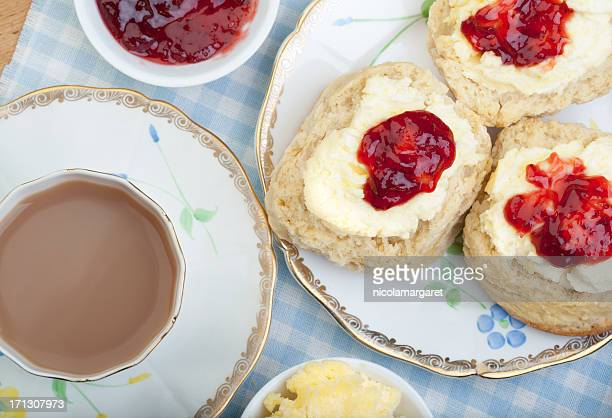 Britische Cream Tea