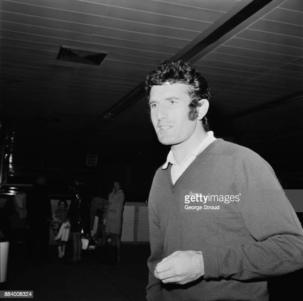 British cricketer John Snow returns from the Australia Tour UK 16th March 1971