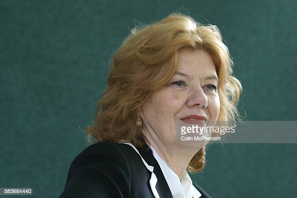 British crime writer Anne Perry at the Edinburgh International Book Festival where she talked about work The Book Festival was the World's largest...