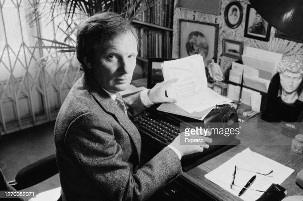 British crime writer Brian Masters 18th February 1985