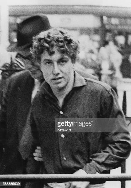 British criminal Francis Forsyth in custody before his execution November 1960 Forsyth was hanged at Wandsworth Prison for his part in the murder of...