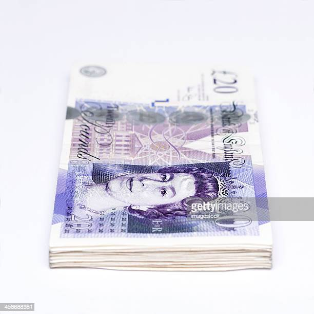 British currency notes