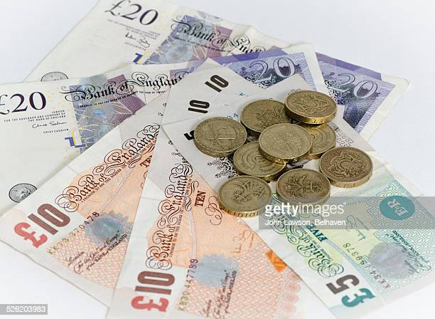 British currency (pounds)
