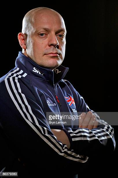 British Cycling Performance Director Dave Brailsford poses for photographs at the Manchester Velodrome on March 19, 2009 in Manchester, England.