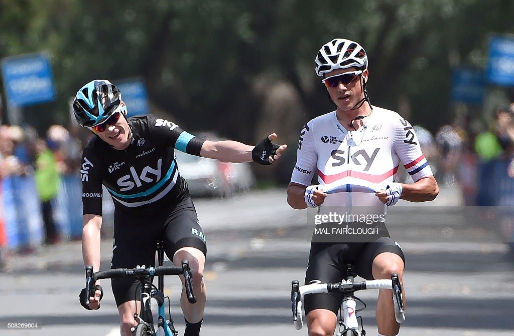 CYCLING-AUS : News Photo