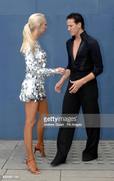 British dance couple Brendan Cole and Camilla Dallerup are unveiled as the duo representing Britain in the BBC's ballroom extravaganza the Eurovision...
