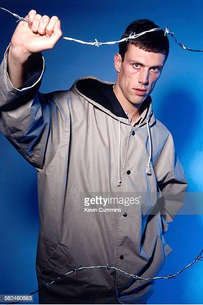 British dancer and percussionist Mark 'Bez' Berry of pop group Happy Mondays 1st November 1991