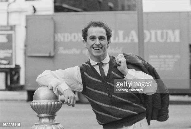 British dancer director choreographer and actor Wayne Sleep UK 18th December 1978