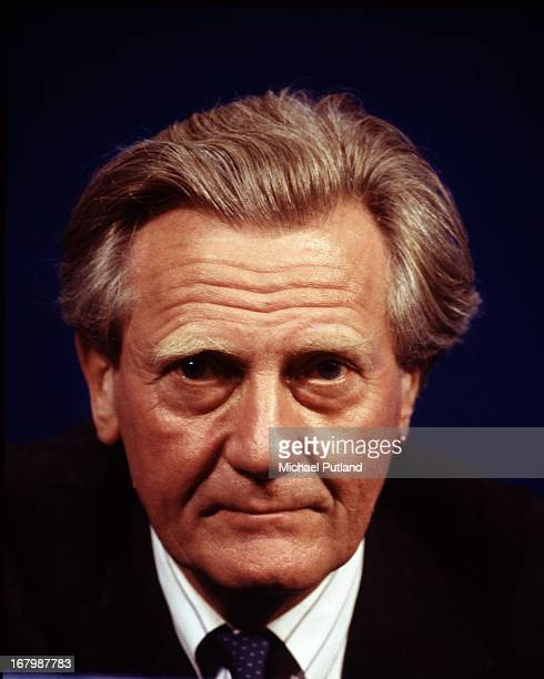 British Deputy Prime Minister Michael Heseltine at the Conservative Party conference Blackpool Lancashire October 1995