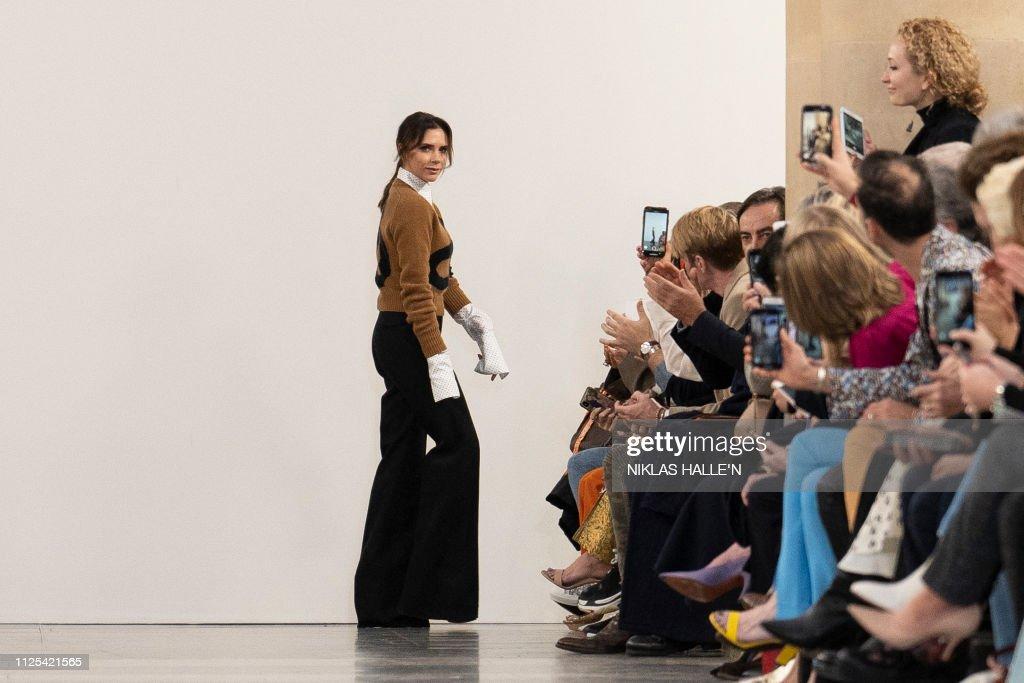 GBR: Victoria Beckham - Runway - LFW February 2019
