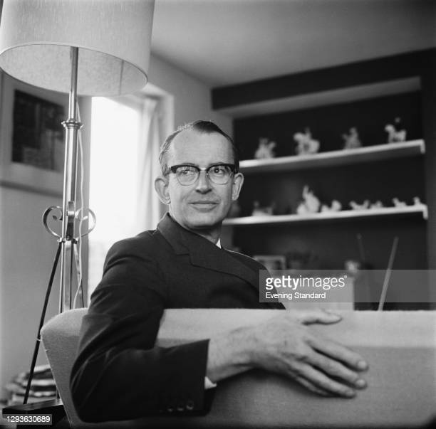 British diplomat and museum curator Dr Basil Greenhill , UK, 6th August 1966. In 1967 he was appointed director of the National Maritime Museum in...
