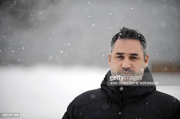 British director Alex Garland poses during a photocall as part of the 22nd edition of the Gerardmer Fantastic Film festival in Gerardmer on January...