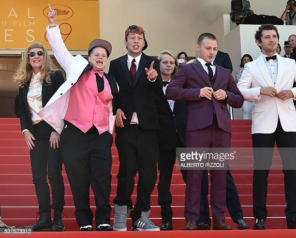 British director Andrea Arnold US actress Veronica Ezell US actor Raymond Coalson US actor Isaiah Stone US actor Mccaul Lombardi and US actor Shia...