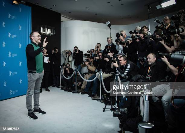 British director Danny Boyle attends the 'T2 Trainspotting' photo call during the 67th Berlinale International Film Festival Berlin at Grand Hyatt...