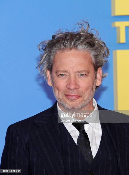British director Dexter Fletcher arrives for a special screening of 'Eddie The Eagle' in Munich Germany 20 March 2016 Photo Ursula Dueren/dpa | usage...