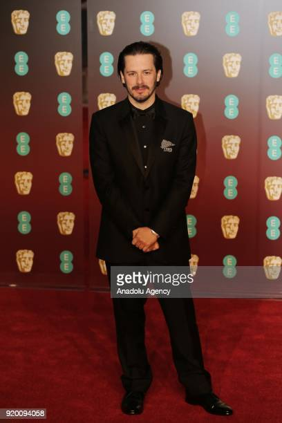 LONDON ENGLAND FEBRUARY 18 British director Edgar Howard Wright poses on the red carpet upon arrival at the BAFTA British Academy Film Awards at the...