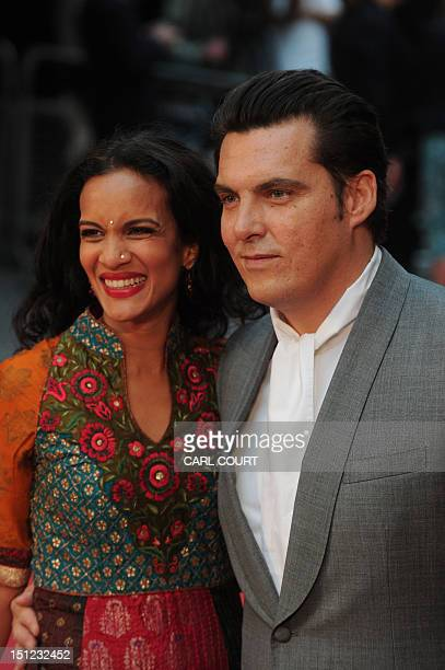 British director Joe Wright and musician Anoushka Shankar attend the worldwide premiere of 'Anna Karenina' in central London on September 4 2012 AFP...