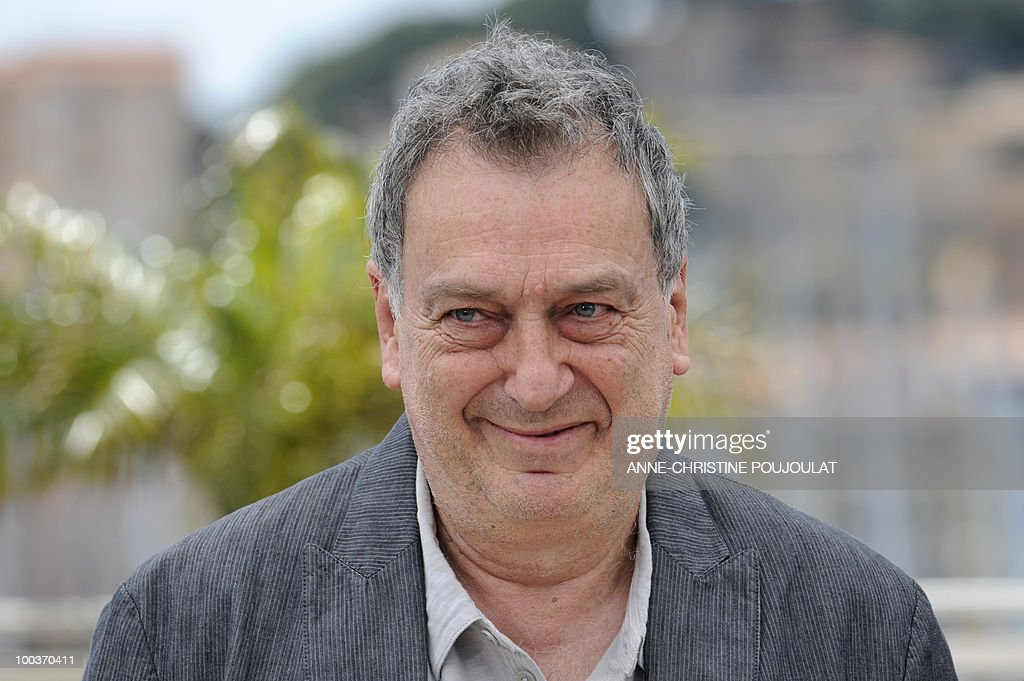 British director Stephen Frears poses during the photocall of 'Tamara Drewe' presented out of competition at the 63rd Cannes Film Festival on May 18, 2010 in Cannes.