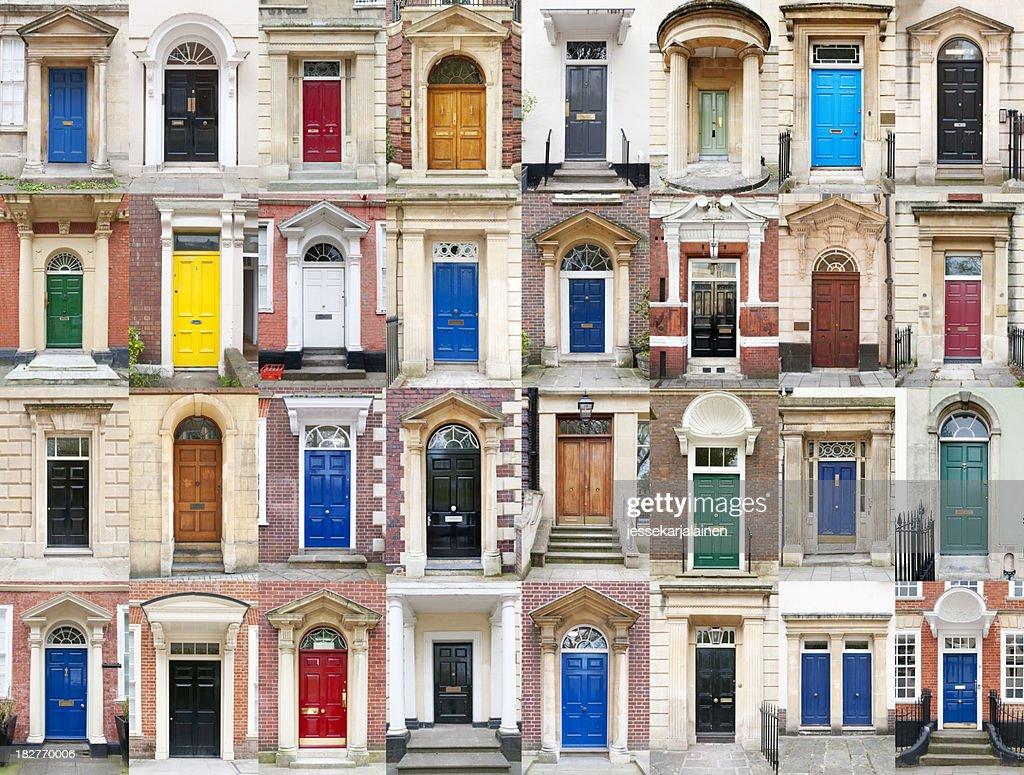 British puertas : Foto de stock