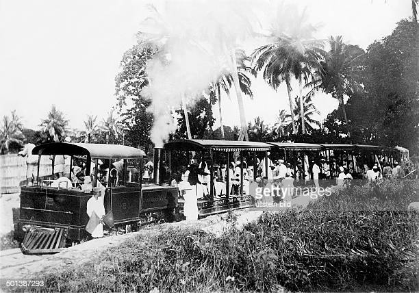 British East Africa train of the Zanzibar Railways probably in the 1910s