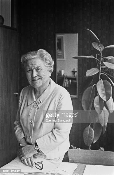 British educationist Dame Margaret Miles , UK, May 1973. She was Headmistress of Mayfield School, Putney from 1952 to 1973.