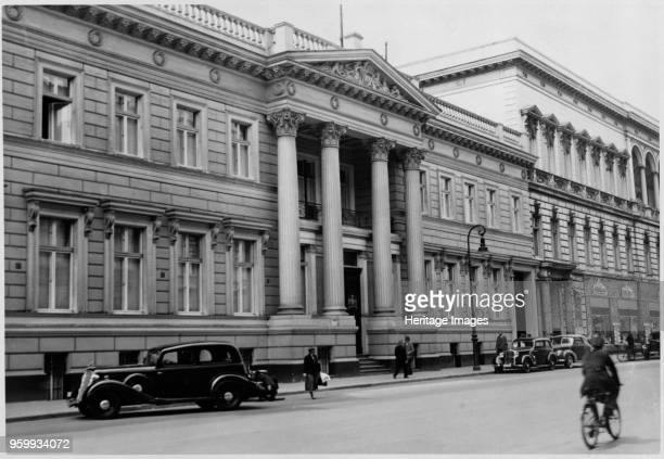 British Embassy, 70 Wilhelmstrasse, Berlin, 1939. Photographed before the outbreak of the Second World War. The Palais Strousberg, designed by...