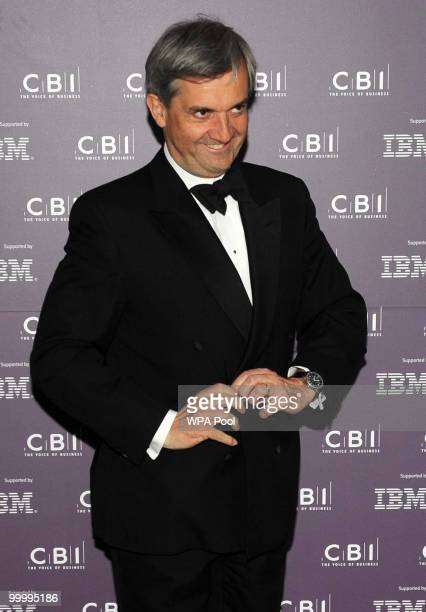 British Energy and Climate Change Secretary Chris Huhne arrives for the British Industry's annual dinner at the Grosvenor House Hotel on May 19 2010...