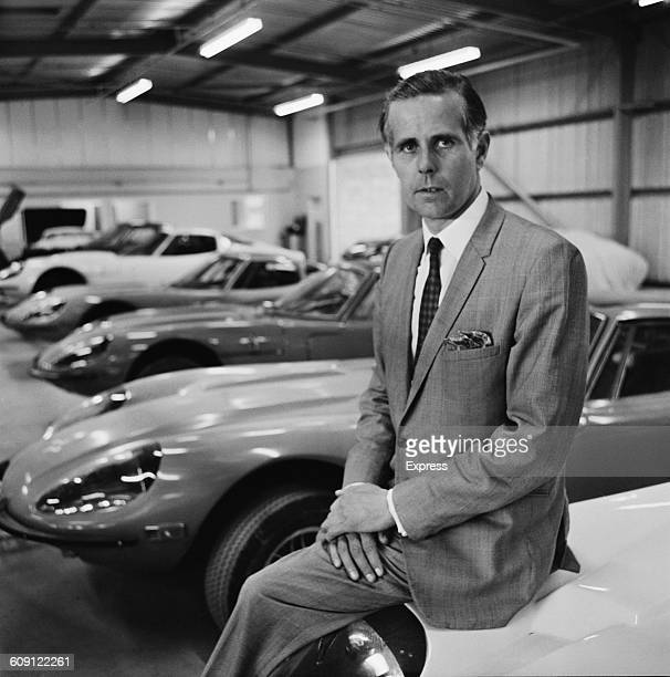 British engineer and motor manufacturer Jem Marsh cofounder of the sportscar manufacturer Marcos UK 23rd July 1970