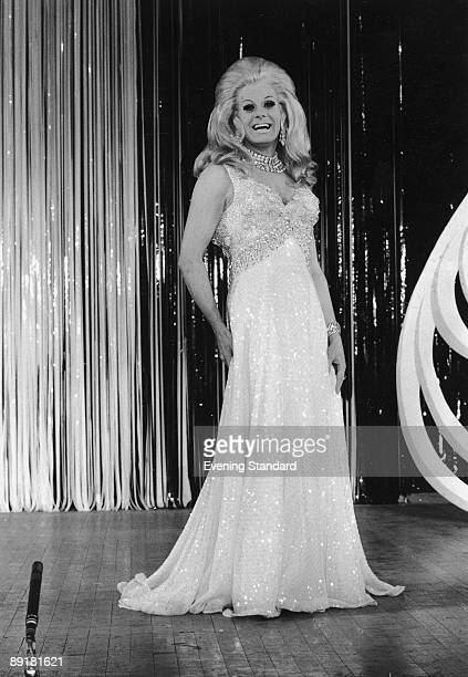 British entertainer and female impersonator Danny La Rue on stage 6th April 1970