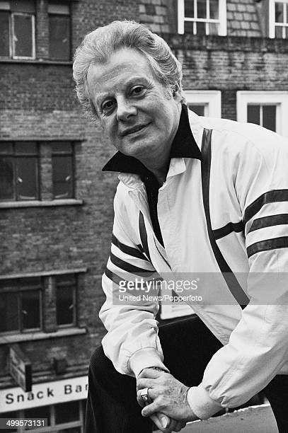 British entertainer and impersonator Danny La Rue in London on 8th March 1984